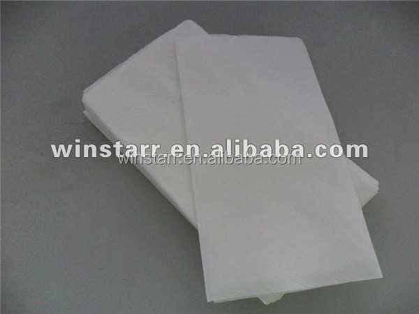printing logo white single fold towel paper