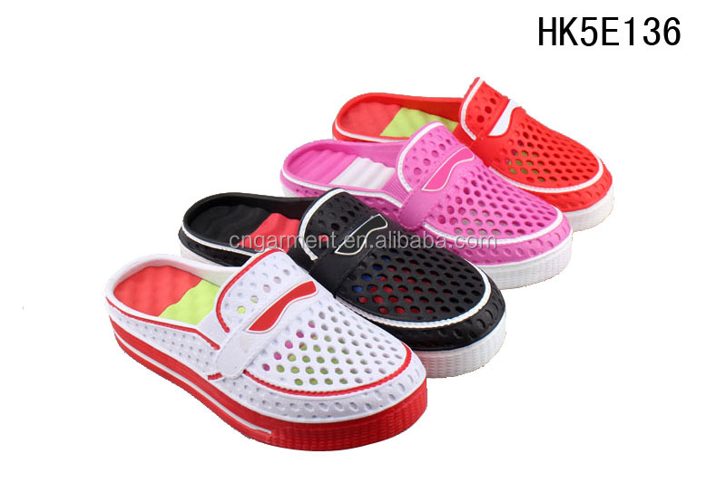 Sporting style EVA clog wtih removable insole injection eva slippers for women HK5E136