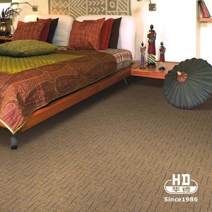 Loop Pile Hotel Carpet Tufted Wall To Wall Carpet For Hotel