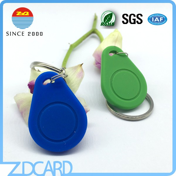 Access Control 125KHZ RFID Key Tag With T5577 Chip Keyfob