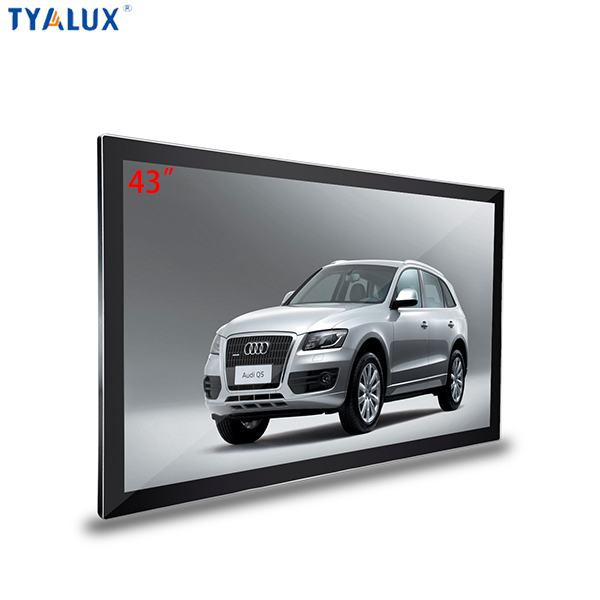 "Display Video and Picture at the same time 43"" LED 1920x1080 Advertising Player"