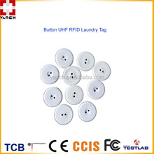 VT-85Y Small Round waterproof Button Passive RFID Clothes Laundry tag