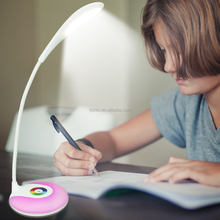 modern rechargeable cordless battery led table lamp