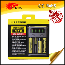 Nitecore i4 Akku-Ladegerat battery charger Li-ion/Ni-MH/Ni-Cd/aa battery i2/i4/d2/d4 charger wholesale nitecore