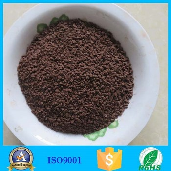 Hot Product MnO2 manganese sand media for water treatment plant