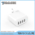 Portable Adapter Plug Best Price Hot Sell 4 USB wall plugs for Mobile Phone