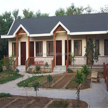 easy installed frame house/prefabricated light steel villa