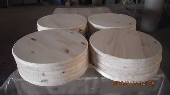 Spruce/Pine Edge Glued Round Table