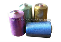 Multicolor polyester embroidery thread