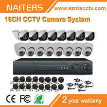 Cheap CMOS 800TVL 16CH Security Camera System /DVR KIT/CCTV KIT