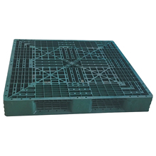 Six runners durable hdpe steel reinforced plastic pallet with manufacturer prices
