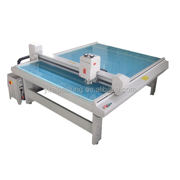 Cardboard Paper Corrugated box digital plotter cutting machine