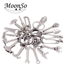 New design High Quality Wholesale metal multi Tool key chain Custom design keychain Moonso