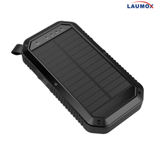 High Quality Solar Charger 10000 mAh Power Bank Portable, External Battery Pack Phone Charger