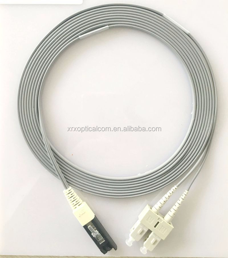 Duplex Multimode VF45 SC/UPC-SC/UPC OM3 Patch Cord Optic Fiber Cable