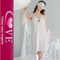 3 Pieces Lingerie Hot Babydoll Sexy Transparent Lace Nighty Girls