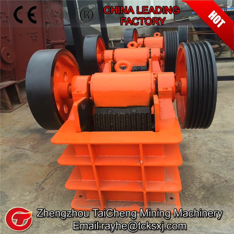 130t/h Magnetic powder jaw crusher plant prodcution line