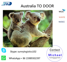 international dropshipping rates freight forwarder from China to Australia