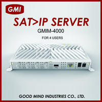 GMIM-4000 4 USERS WITH WIRE/WIRELESS CONNECTION ON SMART PHONES/TABLETS/IP STB SAT > IP SERVER