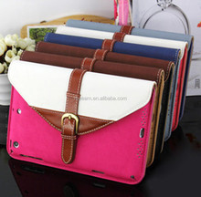 For Apple mini 2 for IPAD protective sleeve for ipad2/3/4 with buckle bracket for iPad air protective shell briefcase