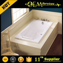 Professional OEM manufacturer 54 bathtub, bathtub soaking, fiber glass bathtub