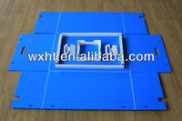 Polypropylene coroplast sheet box(industrial grade)