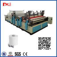 Laminating Embossing Perforating Printing High Speed Automatic Hand Roll Towel Machine