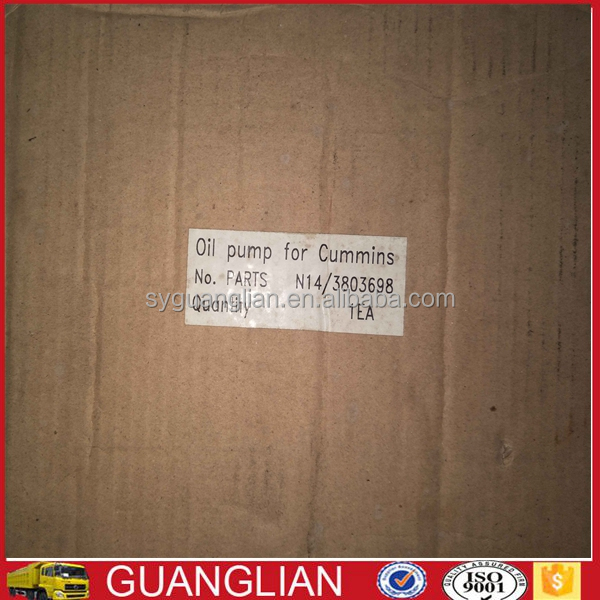 Genuine CCEC N14 Diesel Engine CUMM1NS Oil Pump 3803698