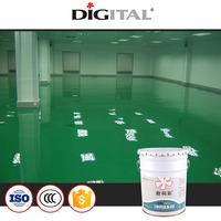 Self-leveling anti-dust epoxy flooring coating