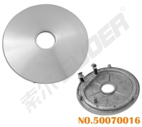 Suoer Best Price Heating Plate 1100w Electric Rice Cooker Parts
