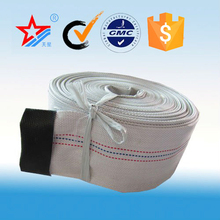 rubber lining canvas fire hose used for water irrigation