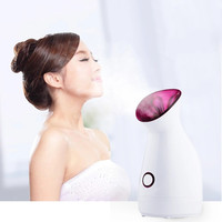 Best price home use professional new promotion beauty spa nourishing face ionic nano care facial steamer