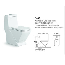 high-end color toilet brown color sanitary ware china_china manufaturer ceramic washdown one piece wc toilet