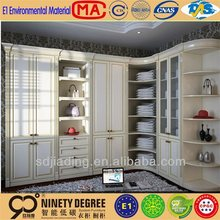 China factory price kids bedroom clothes almirah designs of wooden wardrobe