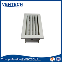 HVAC system decorative return grille for ventilation