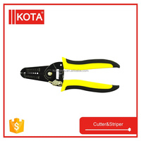cable stripper cutter wire stripper cutter with 2 color handle