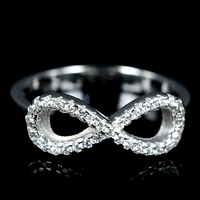 h s925 925 lots sterling silver china platinum jewelry wholesale ladies infinity cz zircon custom finger white gold ring designs