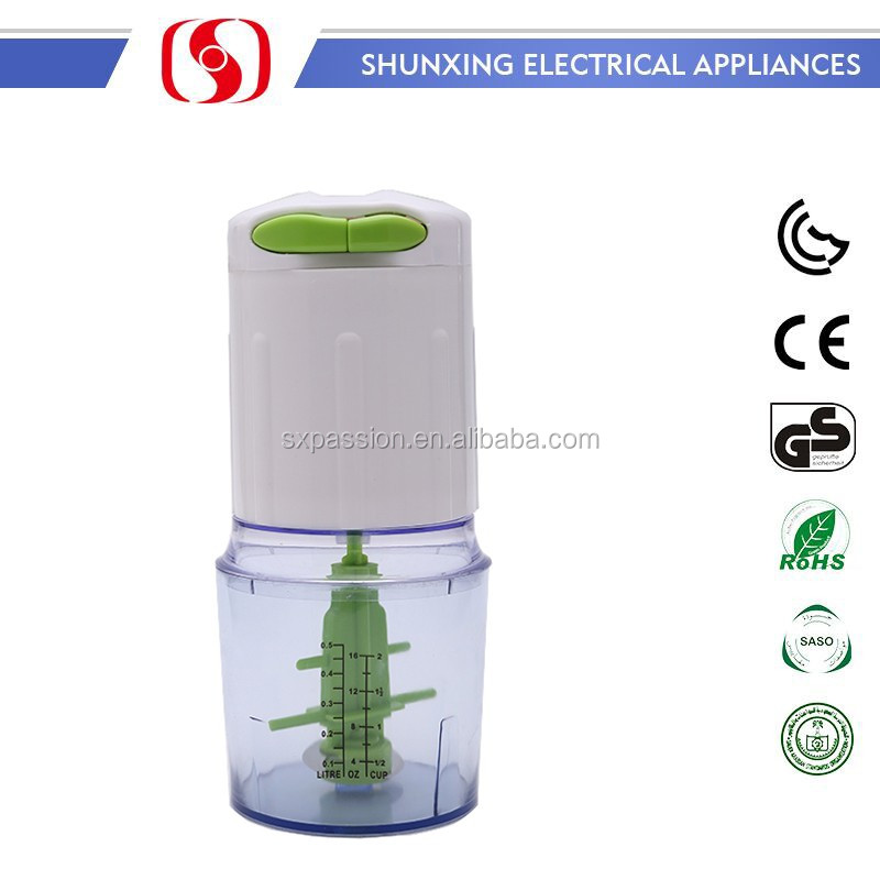 Chinese Plastic Electric Mini Automatic Onion Chopper
