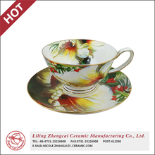 Good Quality European Ceramic tea cup and saucer