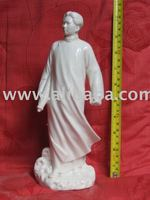 Porcelain Statues,Young Mao zedong Statues, Memorial Souvenirs,giftwares, Cultural Revolutionary home and office decoration
