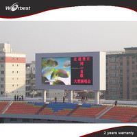 China pixel led 10mm full color led display/led billboard outdoor/advertising screen