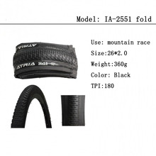 Package mail Mountain folding 180TPI competition bicycle tyres