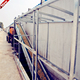 Automatic poultry manure removal system for chickens