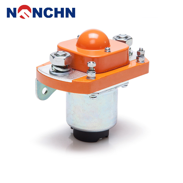 NANFENG Alibaba Latest Technology 24V Electrical Magnetic Latching Type Dc Contactor
