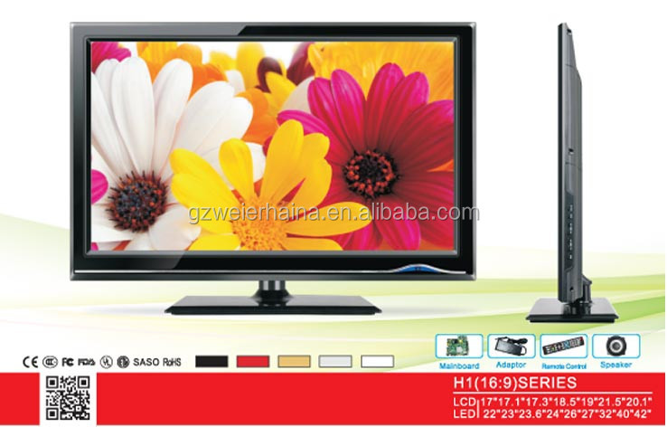 24 inch lcd free japanese tv with cheap price tv bards