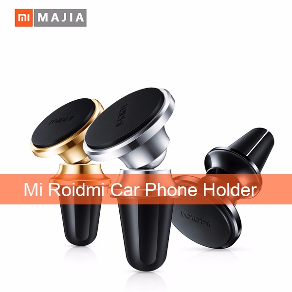 Roidmi Car Phone Holder Magnetic Air Vent Mount Stand 360 Rotate Mobile Phone car Holder for Smartphone