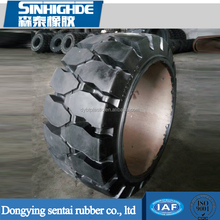 Press-on Solid Forklift Tyres 18x8x12 1/8 Made in China