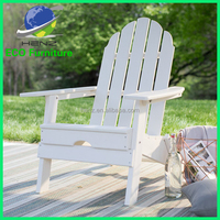 Cheap price of polywood HDPE adirondack chair in china suppier