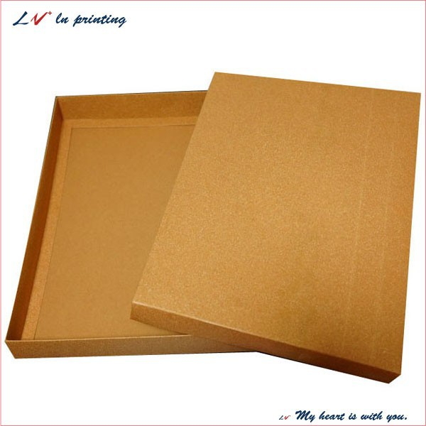 paper kraft boxes/ kraft paper packaging box/ recycled brown kraft gift boxes wholesale