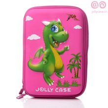 3D Dinosaur innovative school eva pencil box students hardtop EVA pencil case set